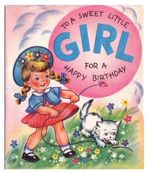 Iiiii To A Sweet Little Girl By Popkulture Birthday