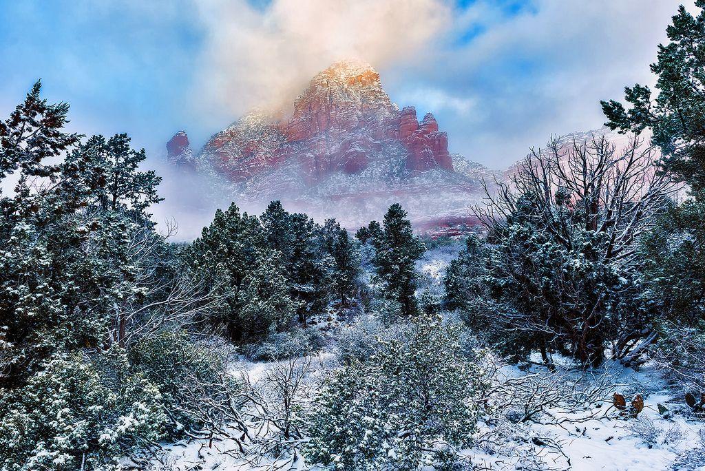 ***Winter in Sedona (Arizona) by Guy Schmickle