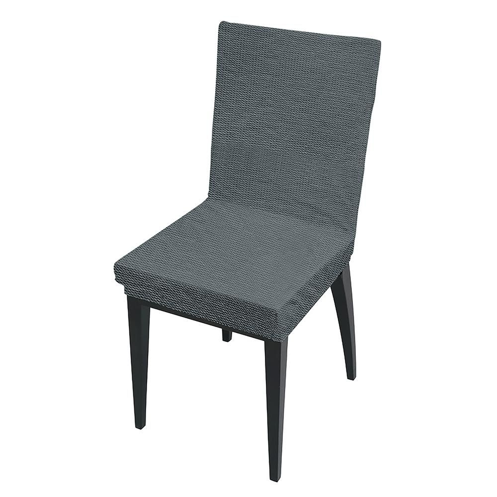Prime 41 7 In X 15 8 In Zig Zag Grey Stretch Dining Chair Slip Uwap Interior Chair Design Uwaporg