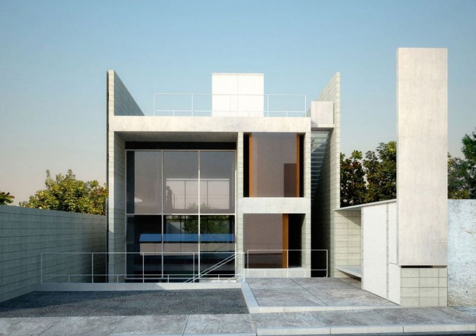 Japan Minimalist House Design Concept