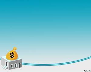 la plantilla powerpoint de ahorro de dinero es un tema de powerpoint gratis para usar como