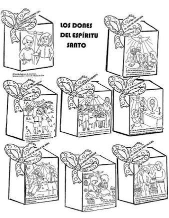 Resultado de imagen para los dones del espiritu santo para niños ...