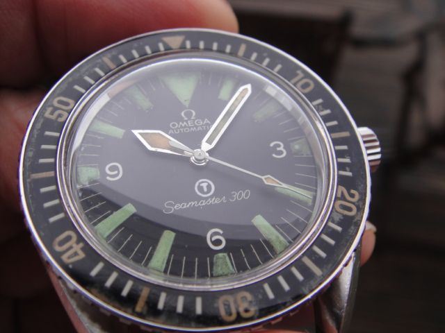 Military issued Omega Seamaster 300 from 1968