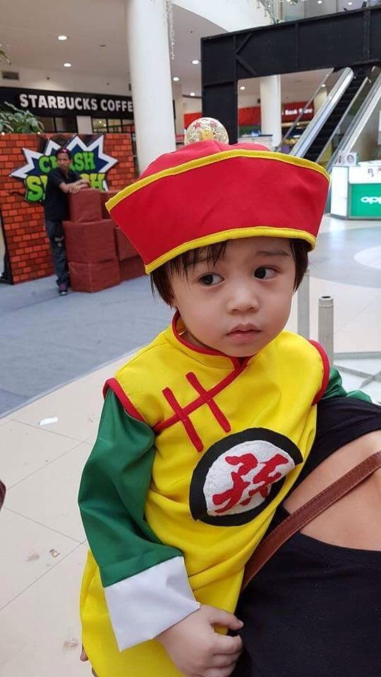 sc 1 st  Pinterest & Pin by HzL Andrada on Baby Gohan Costume | Pinterest