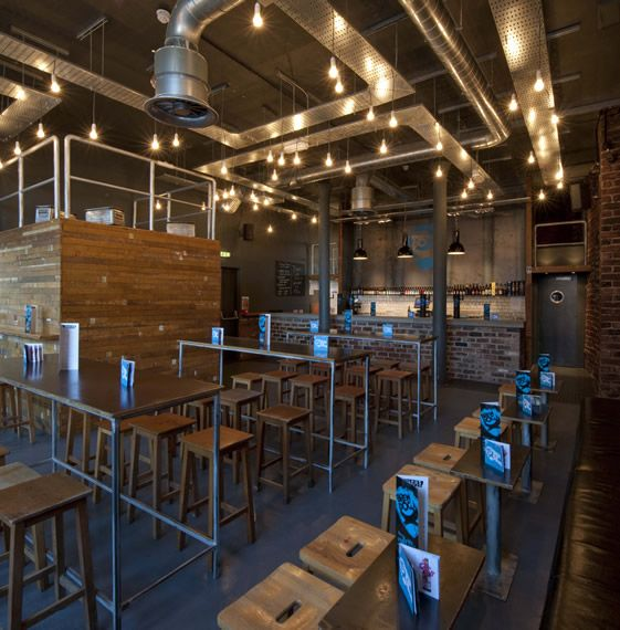 Genial Maverick Scottish Brewery Takes On Some Cold War Chicu2026 Industrial Interior  DesignIndustrial BarsIndustrial ...