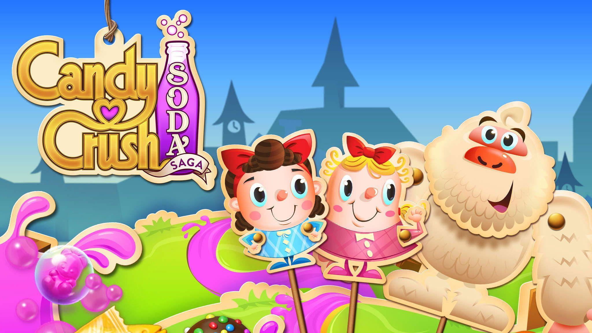Candy Crush Soda Saga game gets 20 new stickylicious