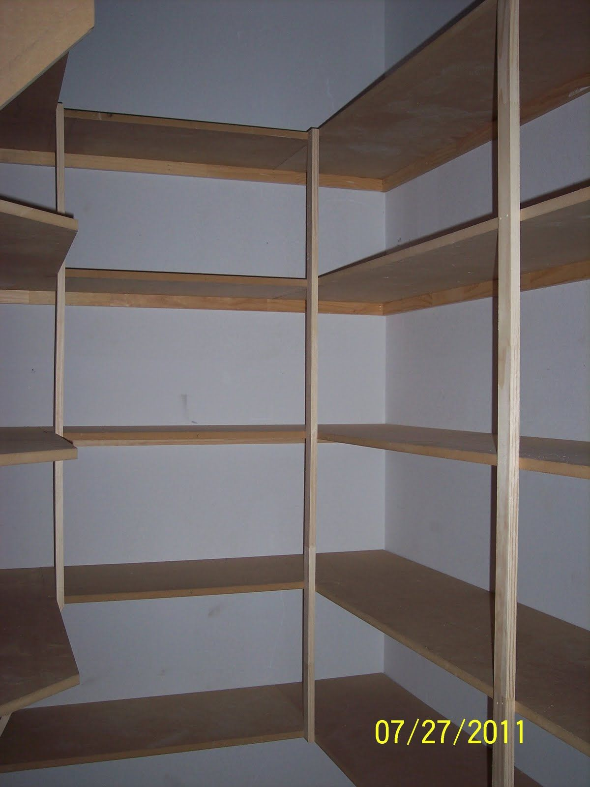 pantry shelves no instructions in this link but lots. Black Bedroom Furniture Sets. Home Design Ideas