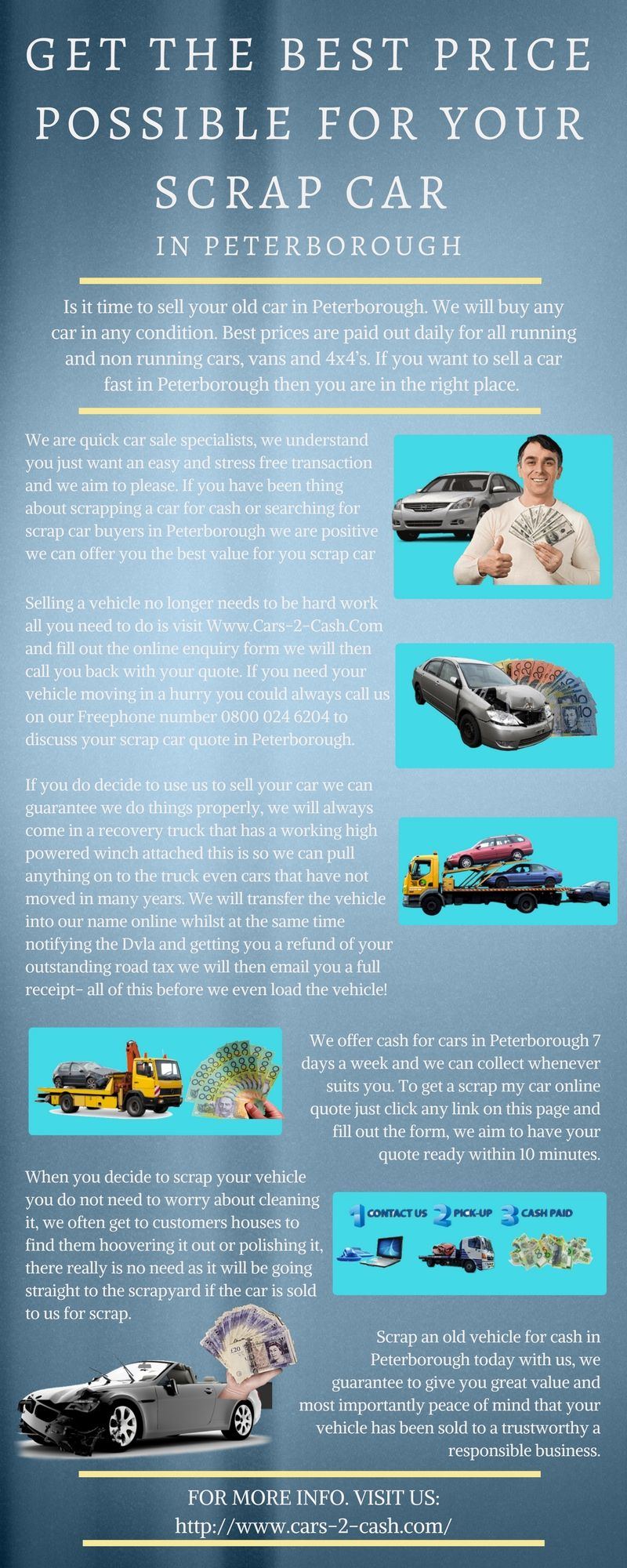 Is it time to sell your old car in Peterborough. We will buy any ...