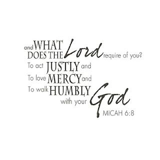 Micah 6:8 …and What Does The Lord Require Of You? To Act