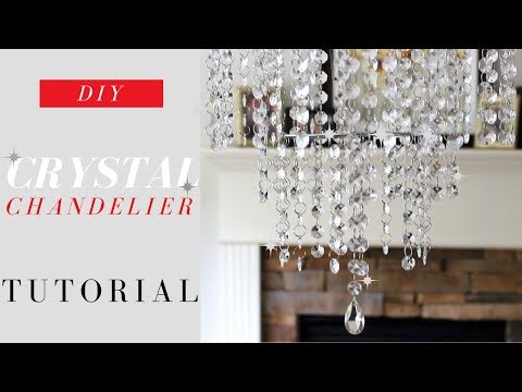 Hi guys! In this video I give you a tutorial on how to make this affordable and beautiful Chandelier. This Chandelier will bling and look great in any room in… #bubblekronleuchter Hi guys! In this video I give you a tutorial on how to make this affordable and beautiful Chandelier. This Chandelier will bling and look great in any room in… #bubblekronleuchter