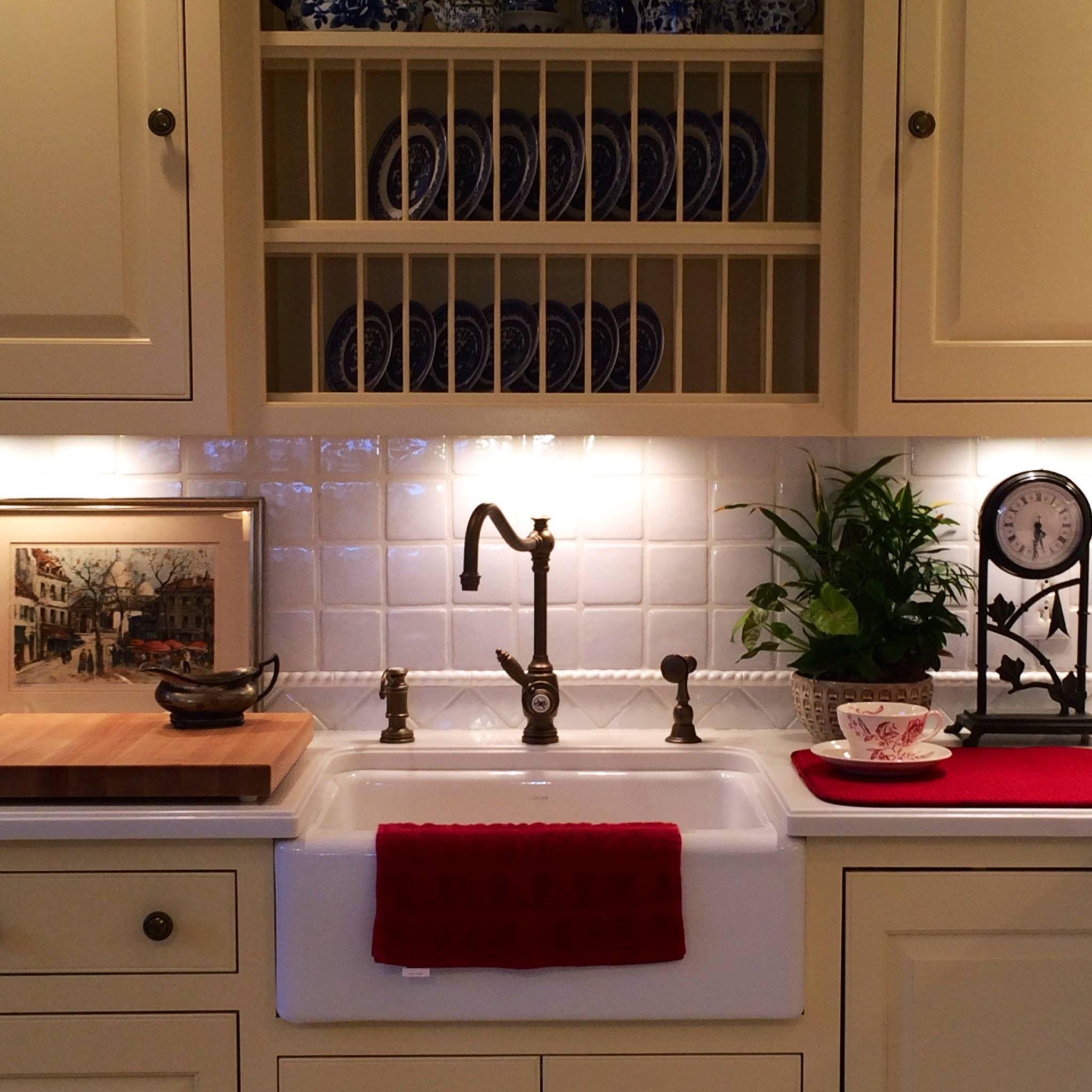 Waterstone Annapolis Kitchen faucet with matching side spray and ...