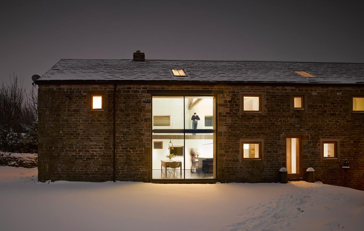 Bude Barn Scheune In England Umgebaut: Historic Barn Reinvented Into Modern Home With Exposed