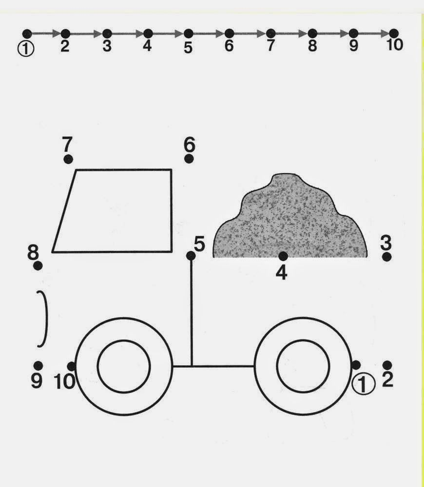 Kids Under 7: Free dot to dot worksheets for kids. Part 2 | színezők ...