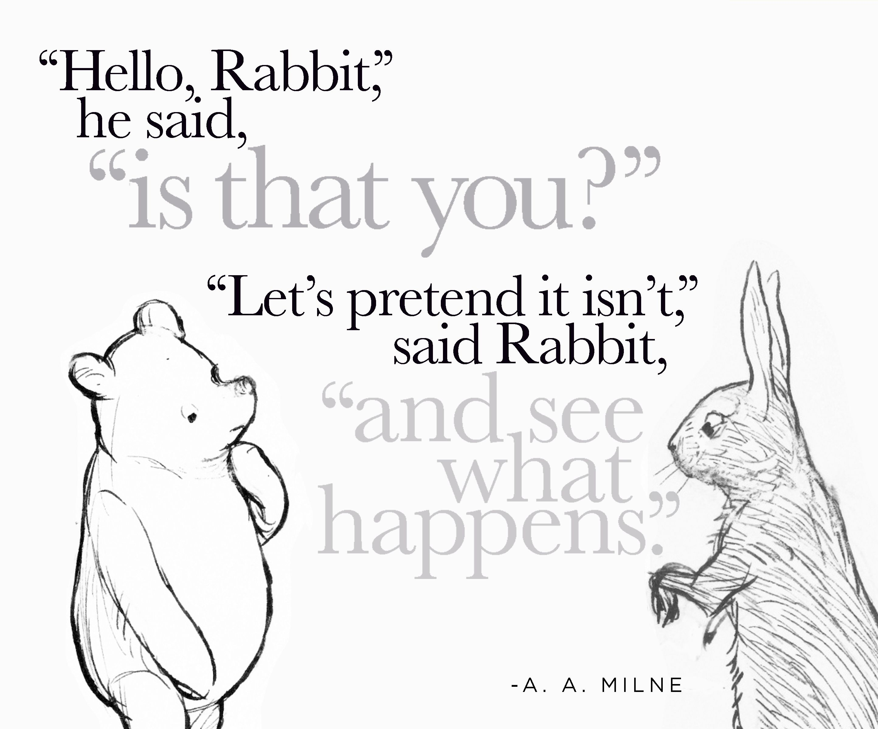 A A Milne Quote With Images Pooh Quotes A A Milne Quotes
