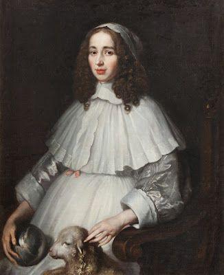 Countess Anna Margareta von Haugwitz by Matthaeus Merian, 1650's.