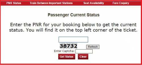 Check Pnr Status Of Irctc And Railway Online At Www Irctc Co In Train Status Indian Railways Train