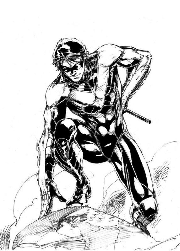 Nightwing by Brett Booth | *Artist: Brett Booth | Pinterest | Cómic ...