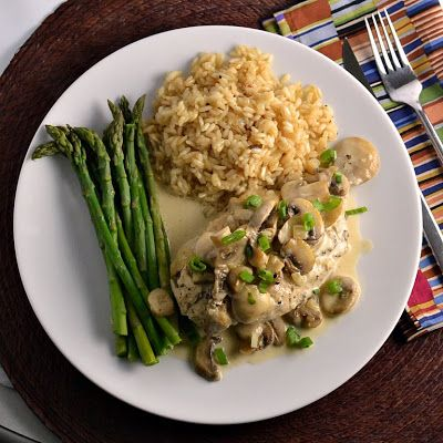 The Foodie Couple: Julia Child's Recipe for Chicken Breasts with Mushrooms & Cream