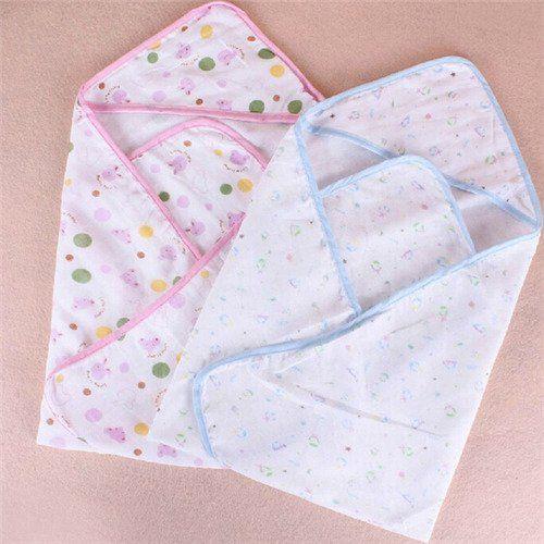 6 99 Baby Swaddle Blanket Splash Wrap Bath Hooded Towel Robe Easy