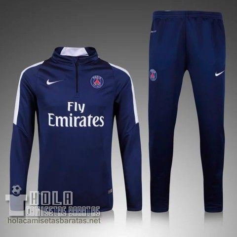 Nueva Chandal Nike Azul Marino Paris Saint-Germain €29.9 Uniformes De Futbol d17b4f0a157