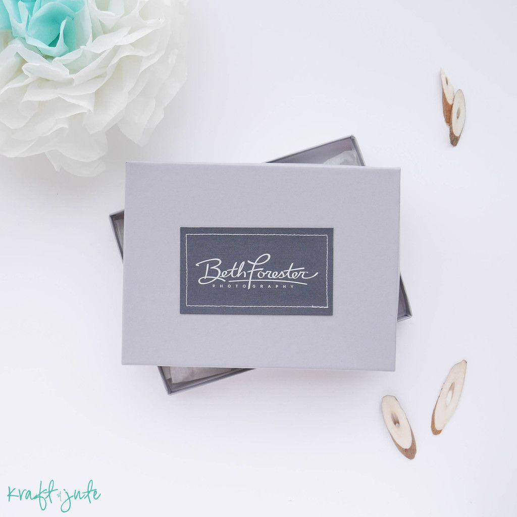 Grey Photo Box Photo Box Place Card Holders Box
