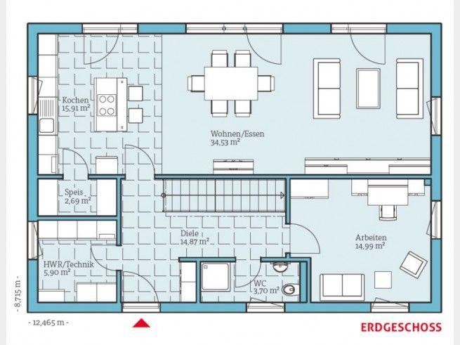 grundriss eg pinterest haus grundriss schmales haus grundrisse und haus. Black Bedroom Furniture Sets. Home Design Ideas