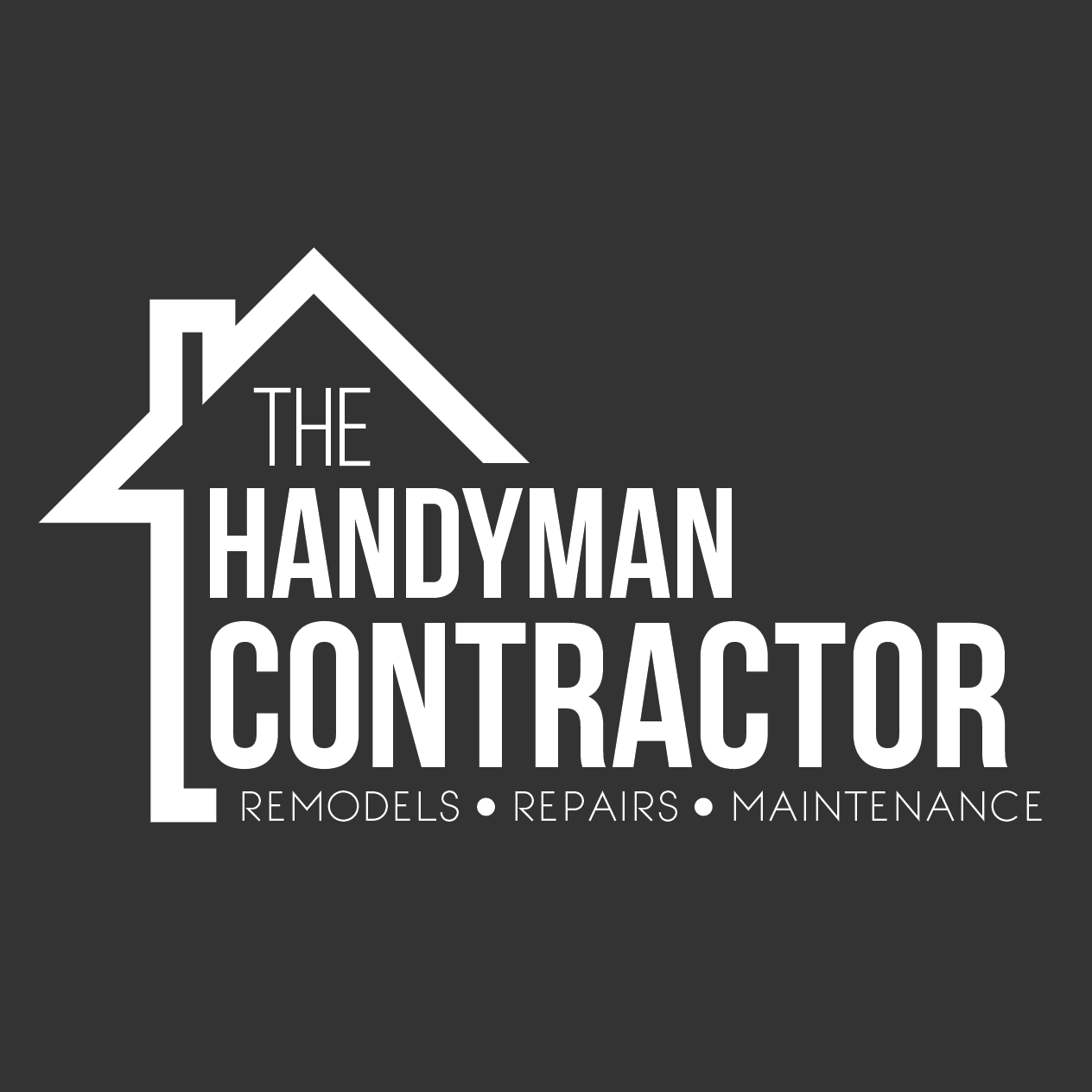 Logo Design For Home Improvement Company. #logo #contractor #design  #graphicdesign # Part 62