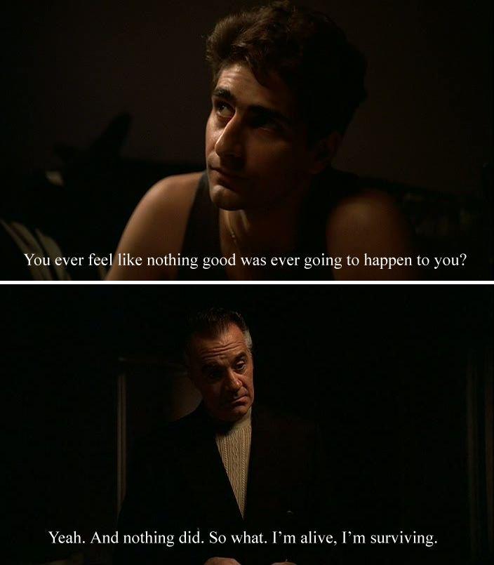 The Sopranos Sopranos Quotes Sopranos Tony Soprano Quotes