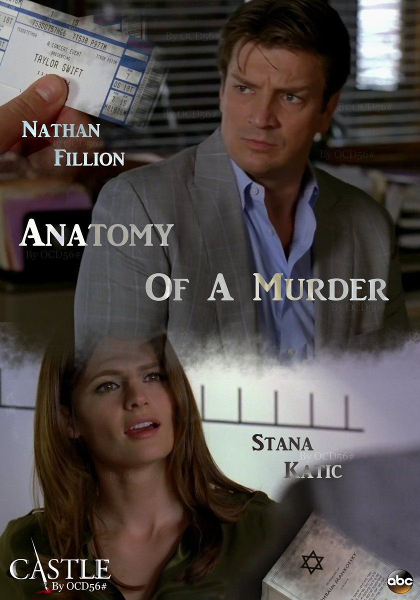 Castle 3x05 - Anatomy of a Murder | Castle Episodes Poster ...