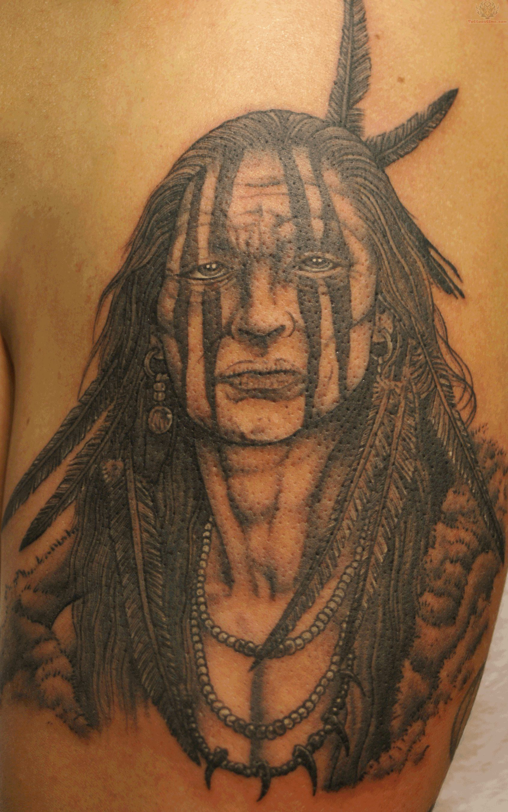 Aztec Warrior Tattoos Buzzle Aztec Warrior Designs Are One Of The Best Symbols Of Stre Native American Warrior Tattoos Indian Tattoo Native American Tattoos