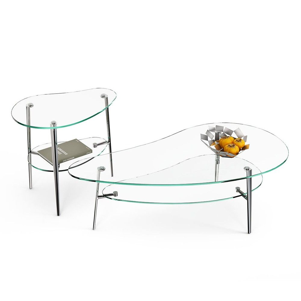 Glass console table with shelf comma coffee table  glass table top white shelves and glass table