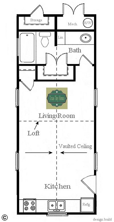 Super Easy to Build Tiny House Plans | Mountain house plans, Tiny ...