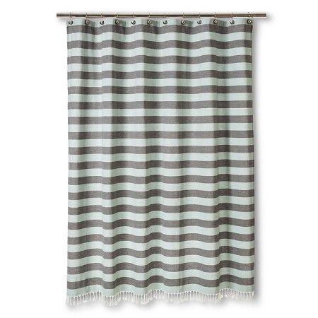 YD Stripe Shower Curtain - Nate Berkus™ : Target