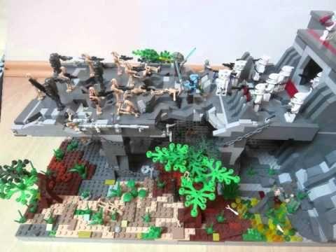 Lego star wars clone base lego starwars moc pinterest lego star wars lego star and lego - Lego star wars base droide ...