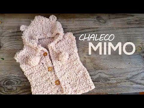 Cardigan o chaleco con capucha infantil a crochet DIY - Patrones ...
