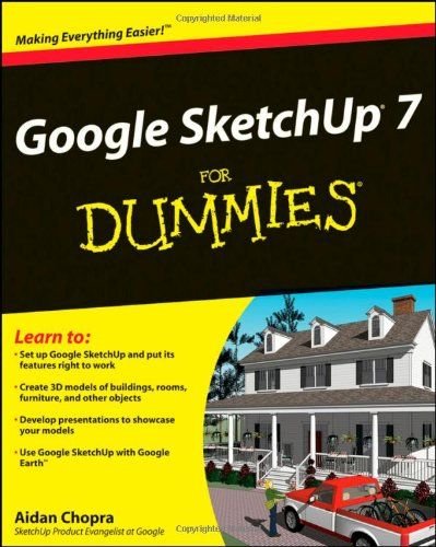 Google sketchup 7 for dummies computer aided design cad - Interior design computer programs ...