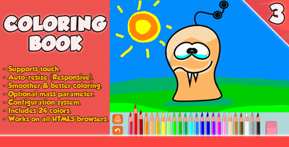 Coloring Book Html5 Game Coloring Books Funny Games Cute Games