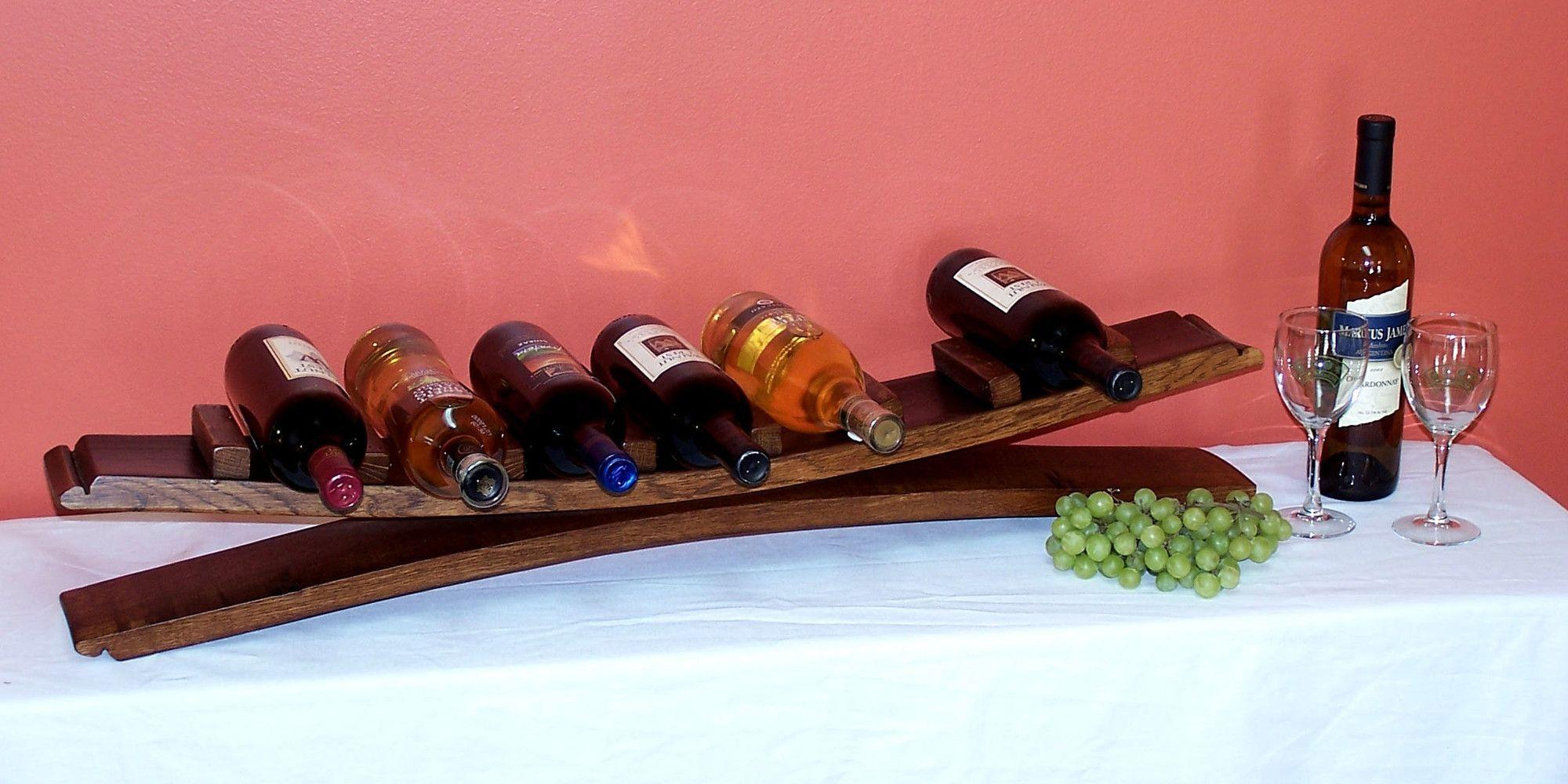 2 Day 7 Bottle Tabletop Wine Rack Wine Rack Table Top Wine Rack Wine Glass Rack