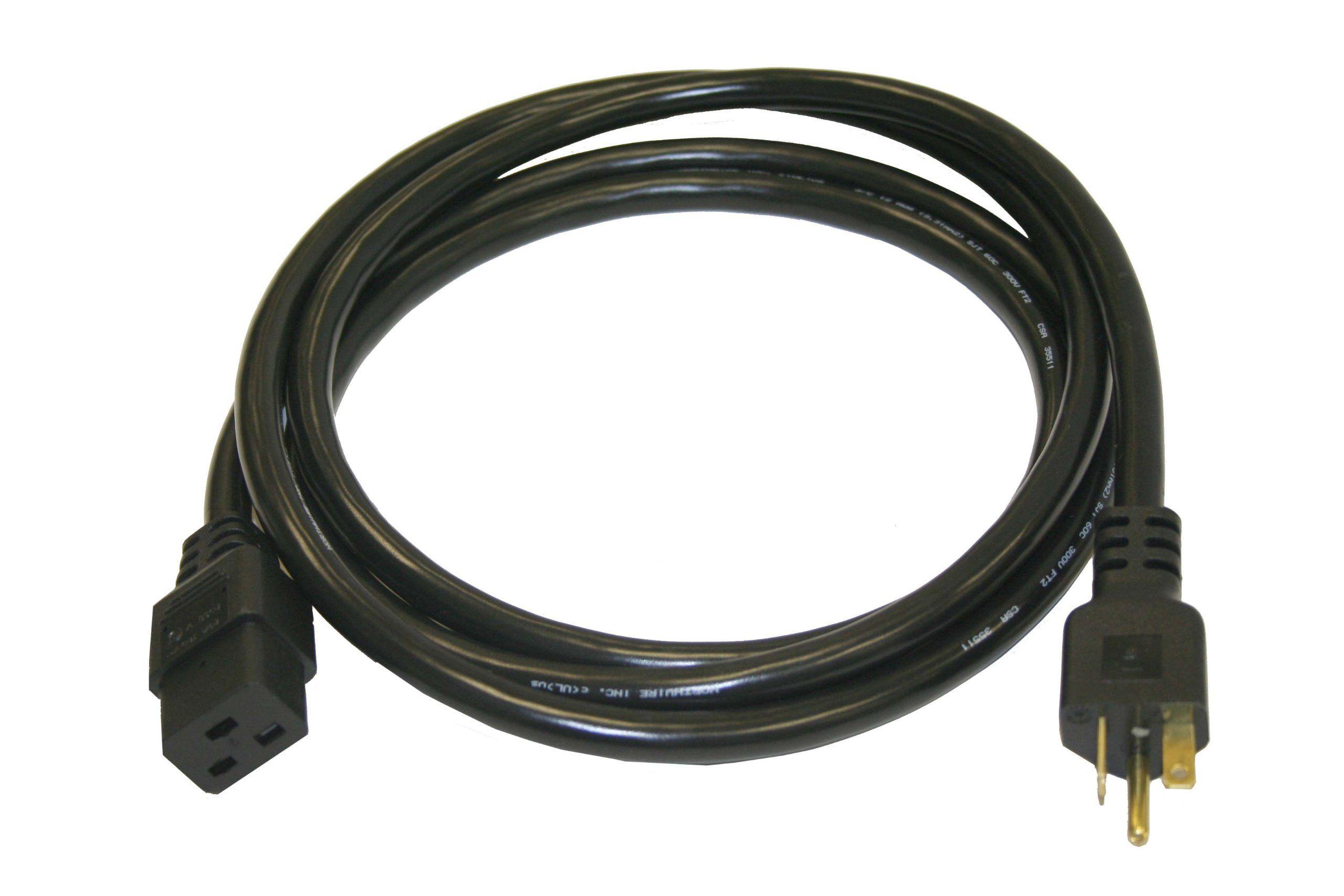 Interpower 86226020 North American NEMA 520P Cord Set NEMA