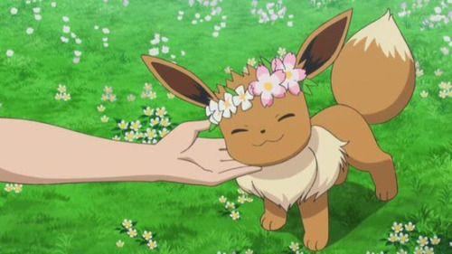 Eevee Flower Crown And Nintendo Image Pokemon Pokemon Eevee Umbreon And Espeon
