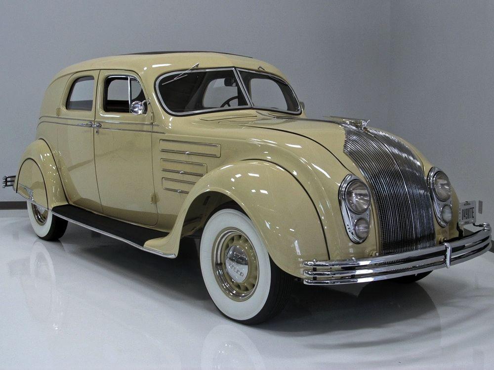 1934 Chrysler Airflow Cu Town Sedan With Images Chrysler