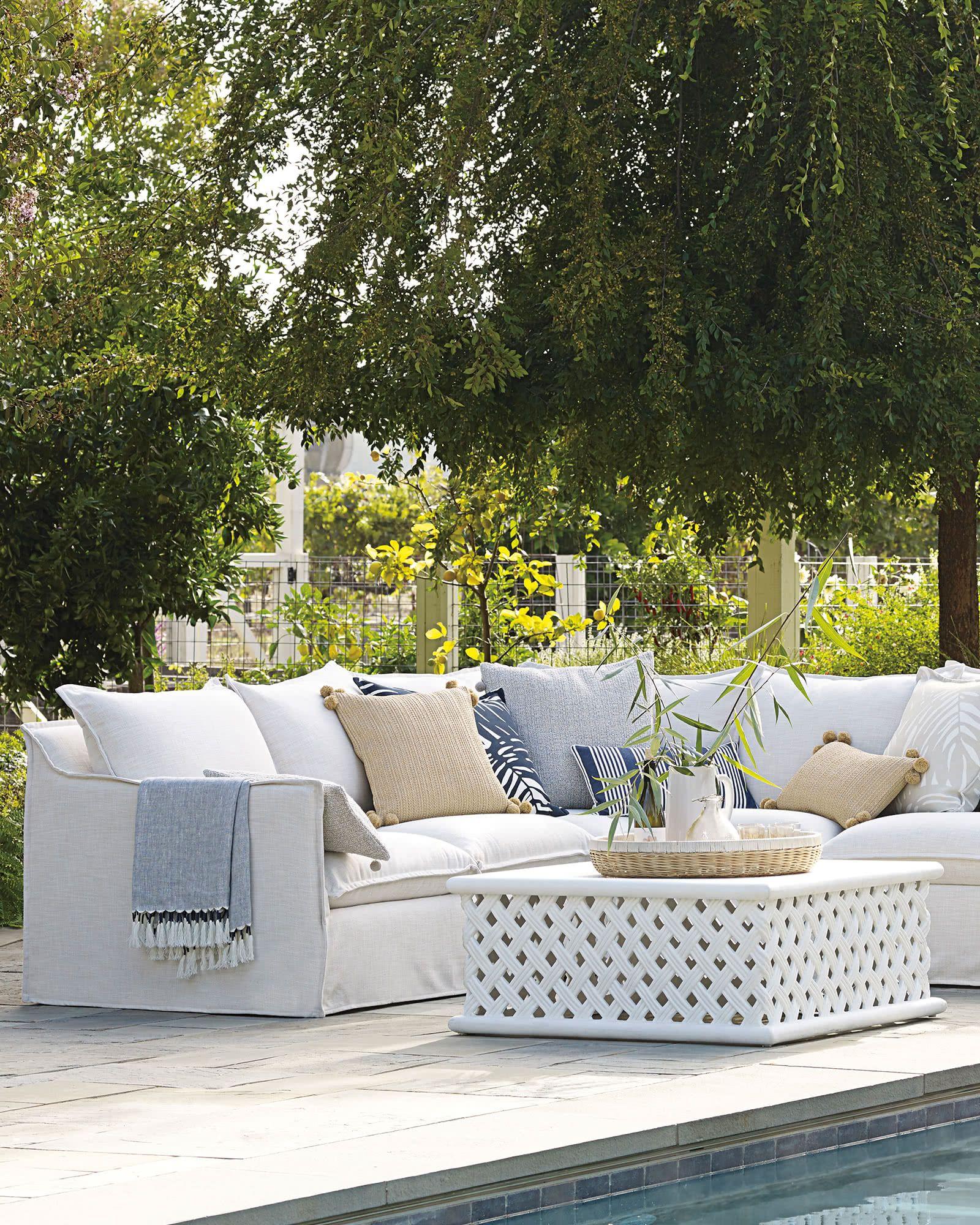 Anacapa Square Coffee Table Garden Furniture Design Garden Furniture Inspiration Diy Garden Furniture
