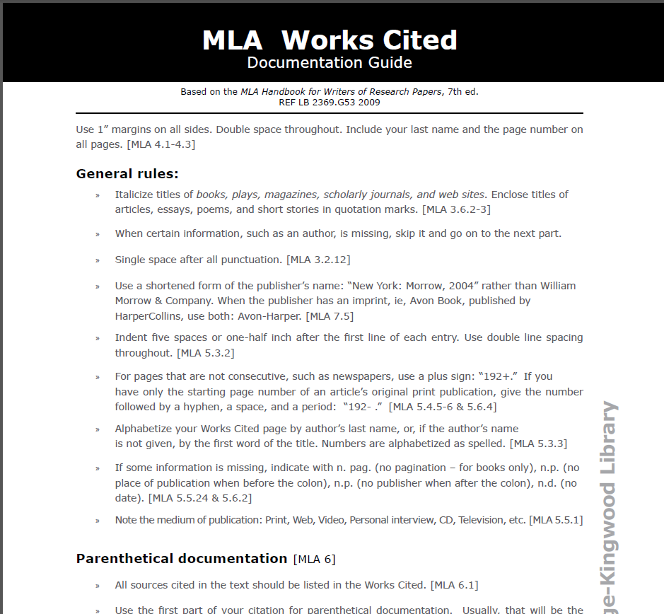 Pin By Sumer Lanum On Citation Skill Work Cited Mla Handbook Double Space In Text Website Example With No Page Number