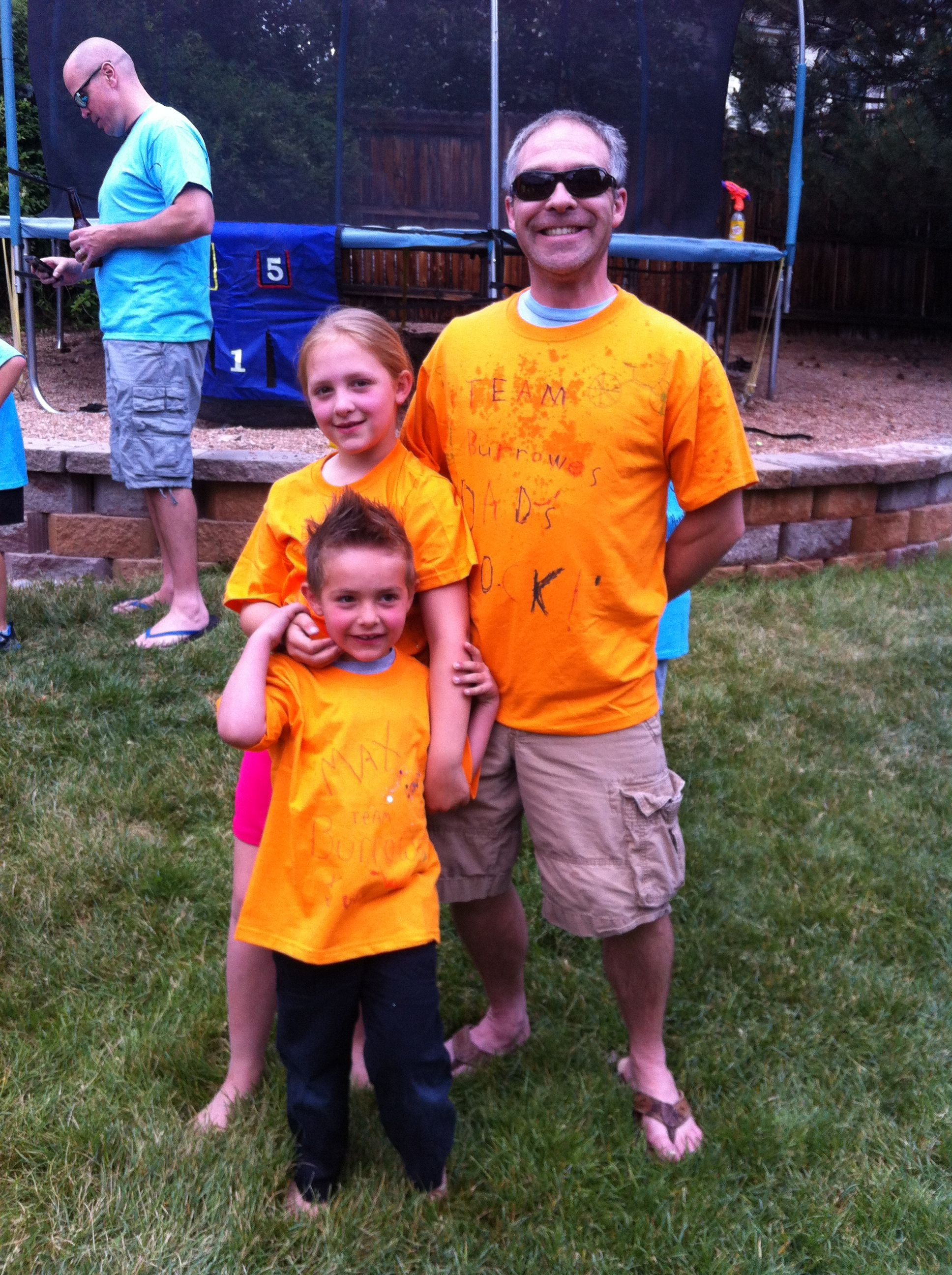 Team Burrowes- fathers day Olympics 2013