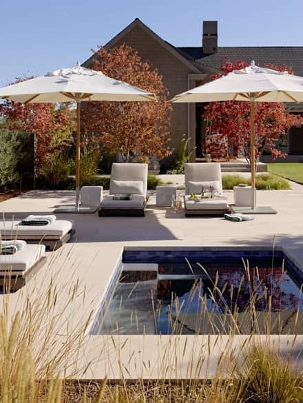 Swimming Pool Designs, Ideen Und Bilder | Patio Furniture Ideas, Patios And  Furniture Ideas