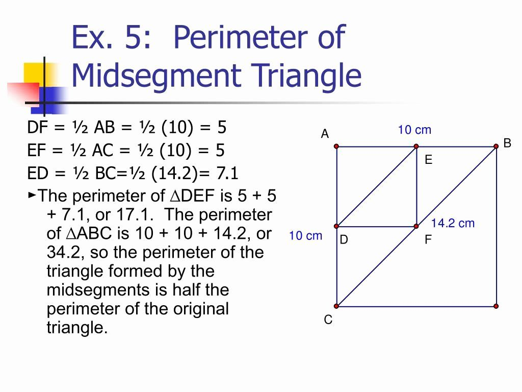 Midsegment Theorem Worksheet Answer Key Elegant Midsegment