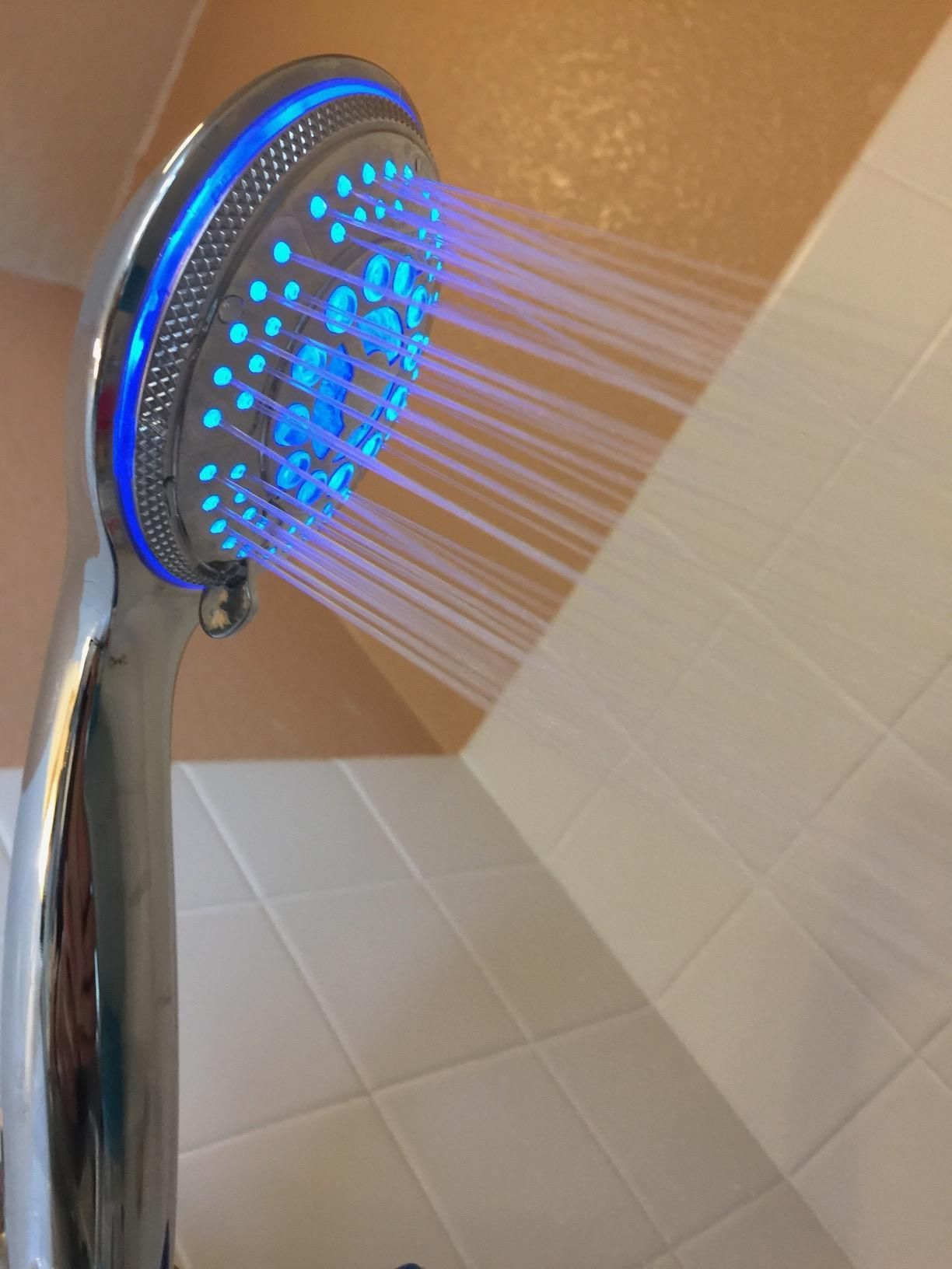 Best Handheld Shower Head Reviews In 2020 Led Shower Head
