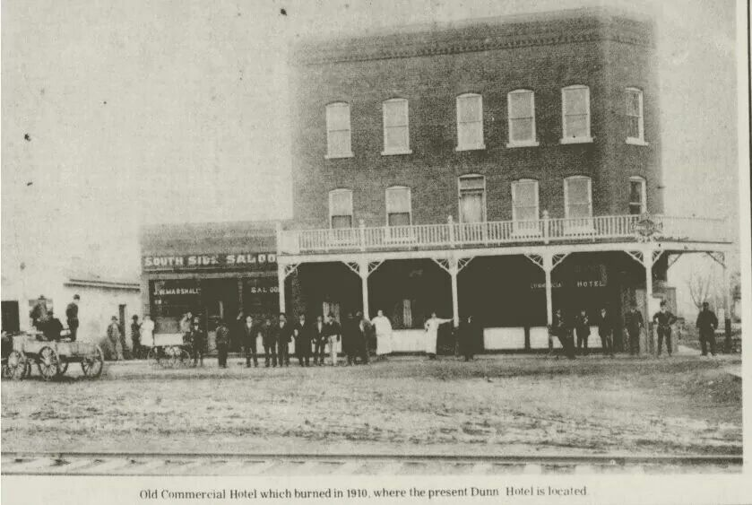 The Dunn Hotel 1910 Sikeston Missouri