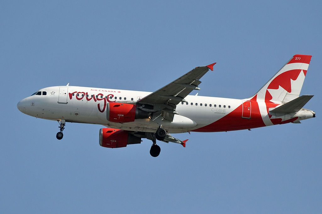 Air Canada Rouge Fleet Airbus A319-100 Details and Pictures