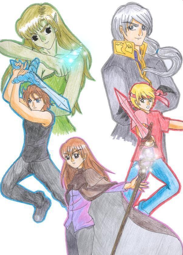 Personajes Memorias de Idhún